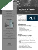 pfranceeducator resume