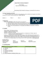 Lesson Plan on Endocrine System (4) - Joji.docx