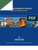 Guia de Oportunidad de Inversion en Turismo Argentina