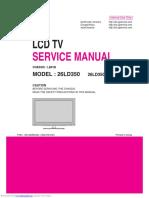 LG 26ld350 Service Manual