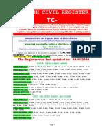 Turkish Civil Register Tc