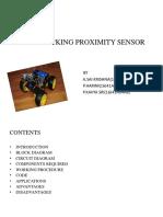 Line Tracking Proximity Sensor