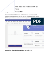 Cara Mengekstrak Data Dari Formulir PDF Ke Excel Spreadsheets