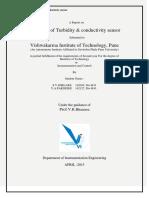 Turbidity and Conductivity Sensor Design