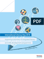 Unesco-improving Outcomes of Integrated Literacy and Skills Development Programmes