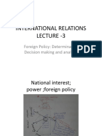 Foreign Policy -IR