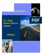 Ch-13- Building Information Systems in an Organization