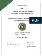 Adventure Audit Report