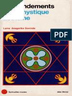 Lama Anagarika Govinda - Les Fondements de la Mystique Tibétaine - Albin Michel (1960)