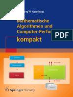 Wolfgang W. Osterhage - Mathematische Algorithmen Und Computer