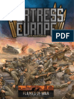 Flames of war fortress europe