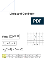 2 Limits and Continuity