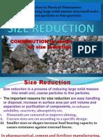 Size Reduction Lec6 PT Editr