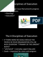 Kemper-4 Disciplines Effective Execution