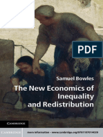 (Federico Caffè Lectures) Samuel Bowles - The New Economics of Inequality and Redistribution-Cambridge University Press (2012)