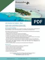 Vacancy Ad - Boat Captain - 241119