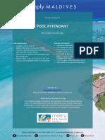 Pool Attendant - Meeru (1)