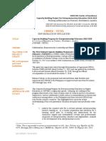 Capacity-building Program for Entrepreneurship Educators (CBP4EE)