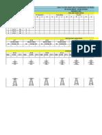 transmission line progress card format