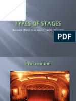 Stagecraft Types of Stages