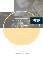 AusHeroes Staff Code of Conduct