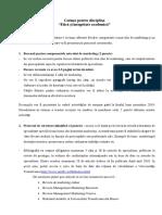 Cerinte Pentru Disciplina_Etica Si Integritate Academica 2019