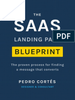 The SaaS Landing Page Blueprint