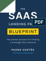 The SaaS Landing Page Blueprint