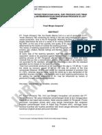 Optimalisasi Proses Pencucian Kapal Isap Produksi Kip Timah Penganak Dalam Meningkatkan Pencapaian Produksi Di Laut Permis Yoszi Mingsi Anaperta 1 Abstract Pt Timah Persero Tbk the p