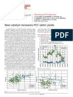 New Catalyst Increases FCC Olefin Yields Reprint