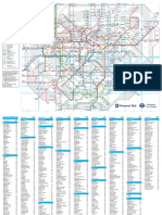 London Rail and Tube Services Map