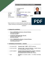 CV Completo en PDF.
