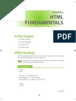 HTML Fundmentals