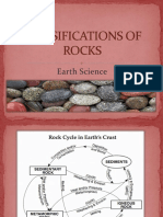 7. Classifications of Rocks