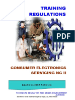 consumer electronic servicing