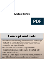 Mutual Funds Intro