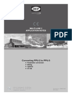 ML-2 Application Notes Converting PPU-2 to PPU-3 4189341126 UK