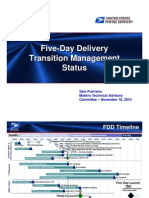 Sam Pulcrano MTAC Presentation on Five-Day Delivery Transition Management Status