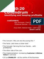 The 8020 Conundrum - Airtel
