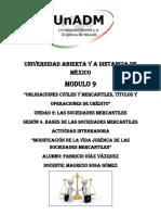 ACTIVIDAD INTEGRADORA