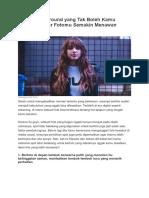 8 Spot Background Yang Tak Boleh Kamu Lewatkan, Biar Fotomu Semakin Menawan