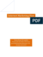 Internet Marketing Plan for Wedding Venue