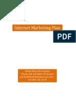 Internet Marketing Plan for Wedding Venue