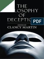 Clancy Martin - The Philosophy of Deception-Oxford University Press (2009)