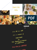 Group 7 Panipuri