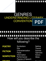LESSON 2 Literary Genres