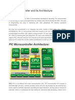 PIC Microcontroller and Its Architecture