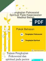 Pengkajian Psikososial Spiritual