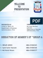 GATT Presentation