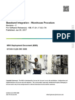 Baseband Integration – Warehouse Procedure